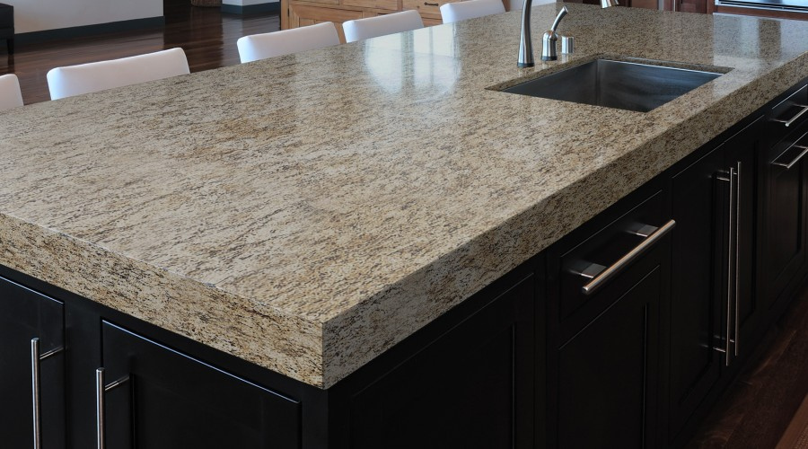 Sensa Iberian Sunset Granite Kitchen Countertop