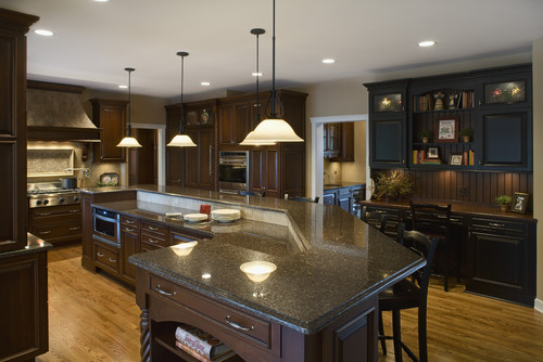 Imperial Coffee Granite Is A Beautiful Brown Granite With Dark And Light  Flecks For Added Dimension. This Durable Granite Is Recommended For Indoor  And ...