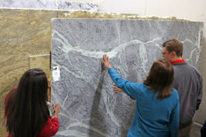 searching for the right granite